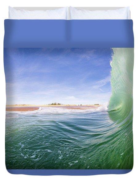 Shorebreak Duvet Cover