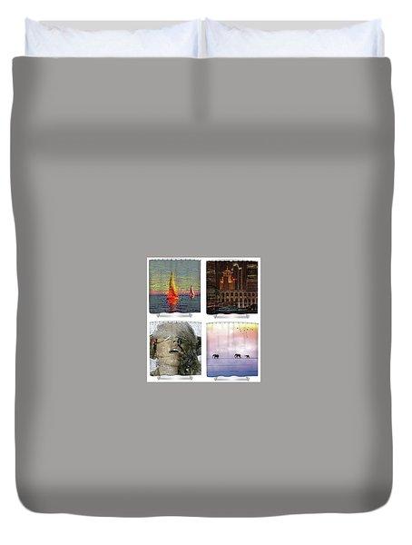 Shower Curtains Samples Duvet Cover