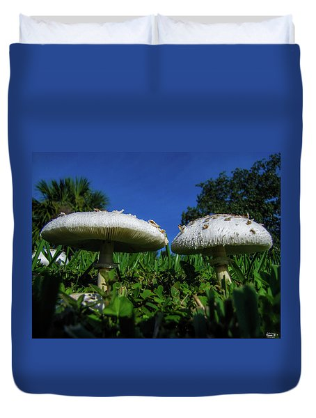 Shrooms Duvet Cover