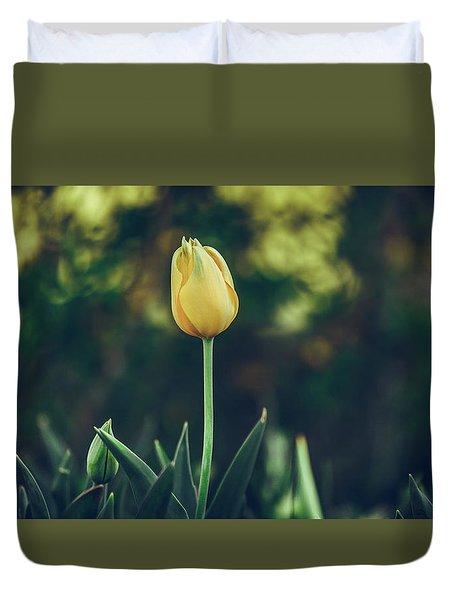Silence Is Golden Duvet Cover