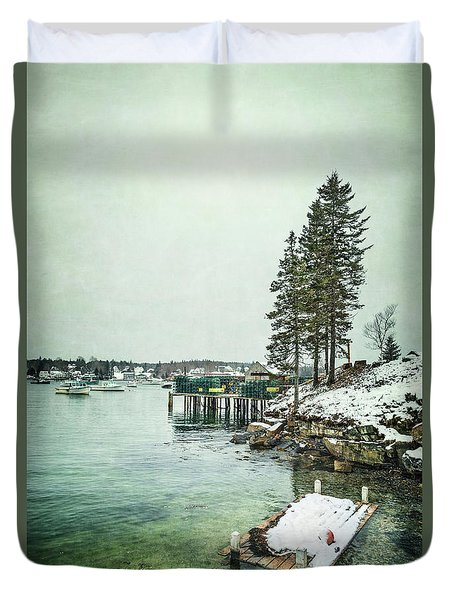 Silent Season Duvet Cover