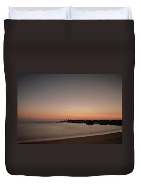 Duvet Cover featuring the photograph Silhouette by Bruno Rosa
