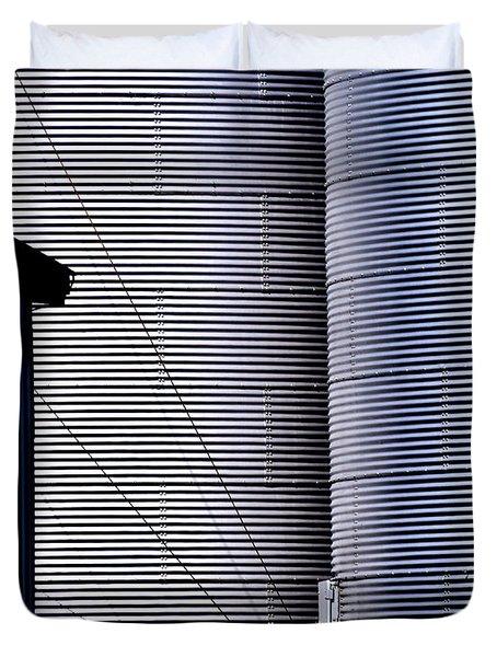 Silo Door Duvet Cover