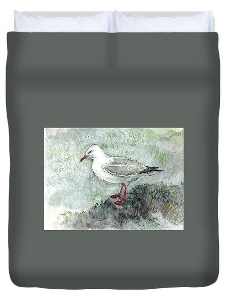 Silver Gull Duvet Cover