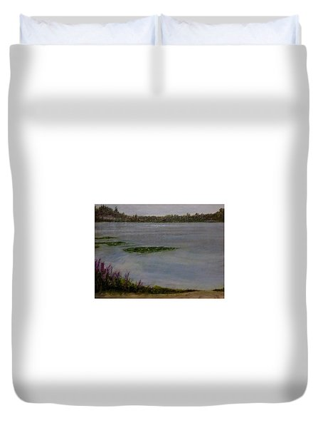 Silver Lake Duvet Cover