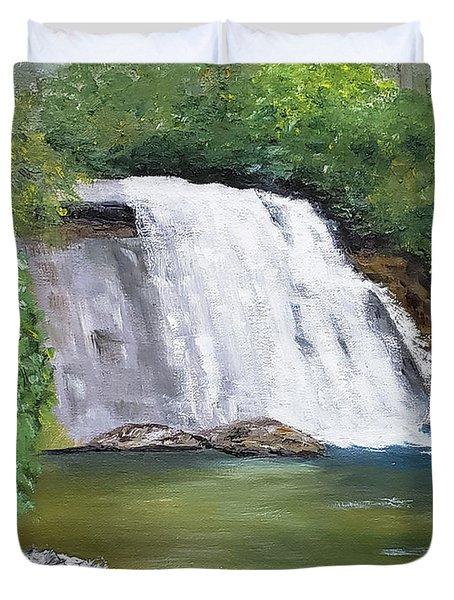 Silver Run Falls Duvet Cover