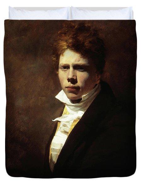Sir David Wilkie, Self-portrait Duvet Cover