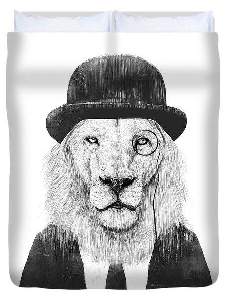 Sir Lion Duvet Cover