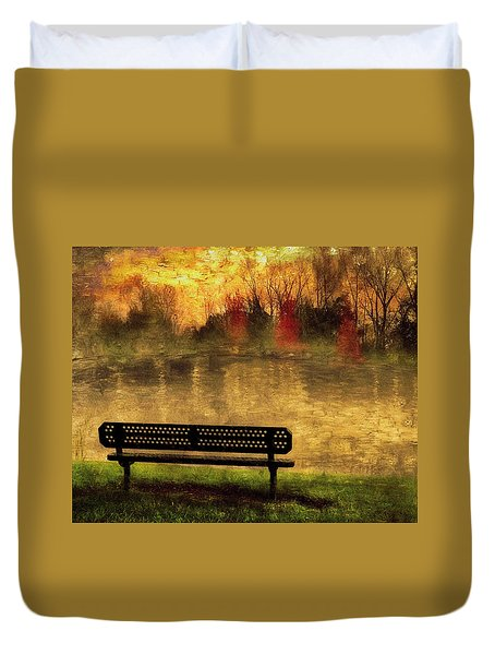 Sit And Admire Duvet Cover