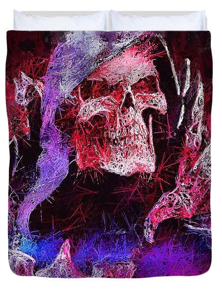 Skeletor Duvet Cover