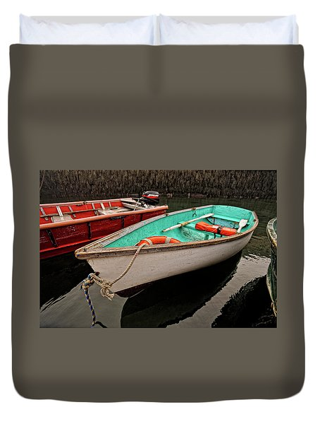 Skiffs Duvet Cover