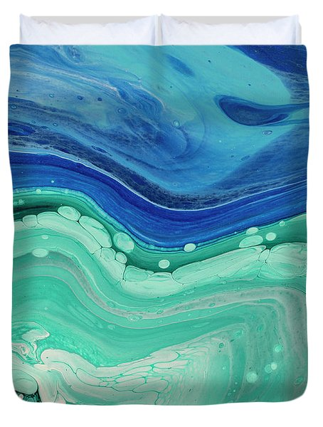 Sky And Water Duvet Cover
