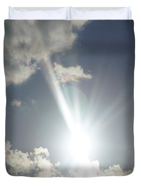 Sky Is The Limit Duvet Cover