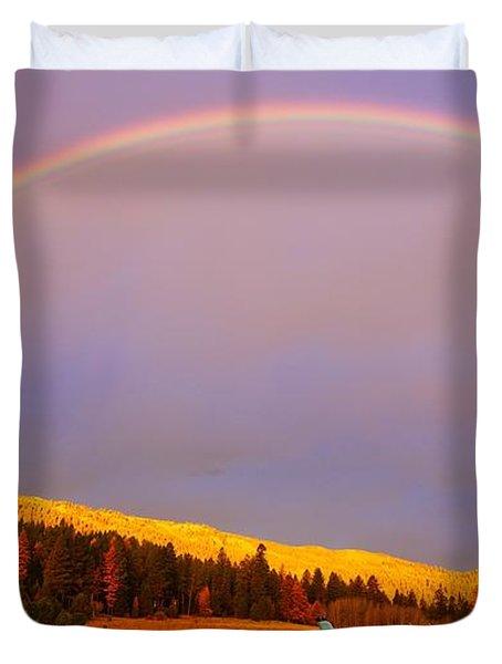 Skylane Rainbow Duvet Cover