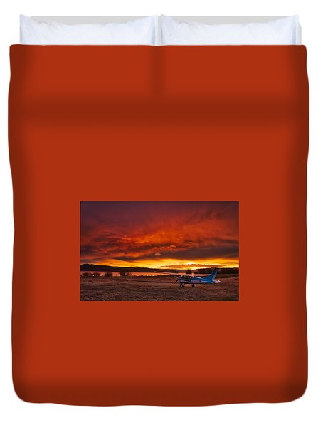 Skylane Sunrise Duvet Cover