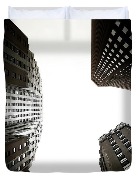 Skyscrapers Duvet Cover