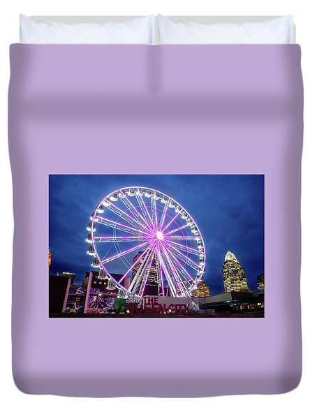 Skystar Ferris Wheel Duvet Cover