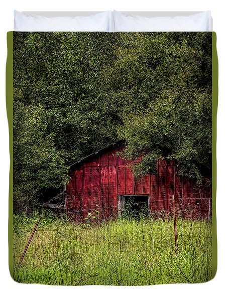 Small Barn 2 Duvet Cover