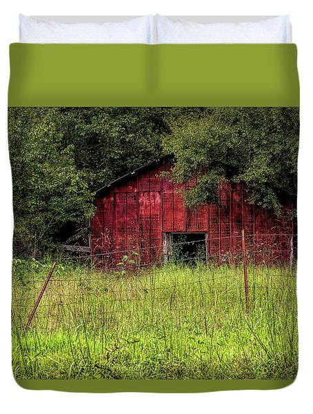 Small Barn 3 Duvet Cover
