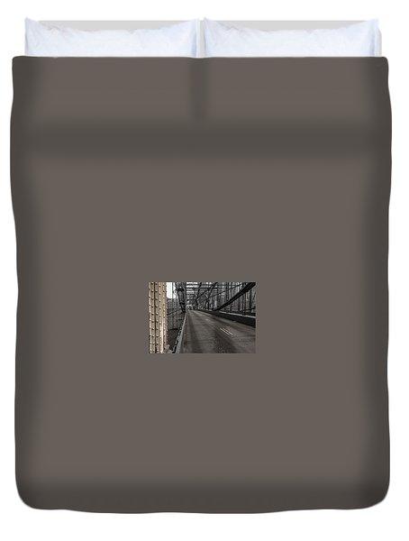 Smithfield Street Bridge Duvet Cover