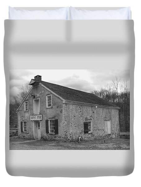 Smith's Store - Waterloo Village Duvet Cover