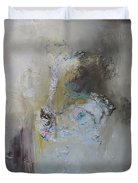 Smoke Gets In Your Eyes Duvet Cover