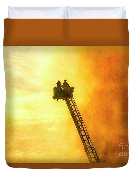 Smokey Blaze Duvet Cover