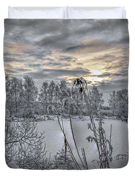 Snow #i3 Duvet Cover