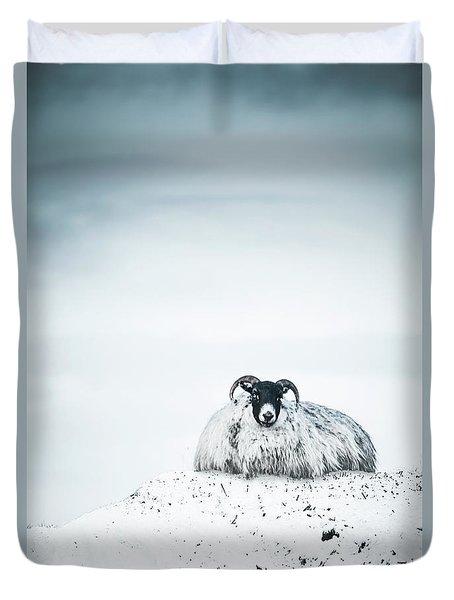 Snow Sheep Duvet Cover