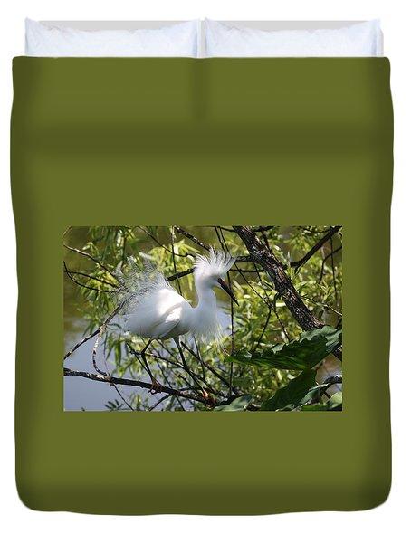Snowy Egret 4031202 Duvet Cover