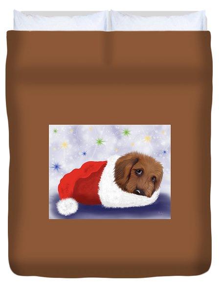 Snuggle Puppy Duvet Cover