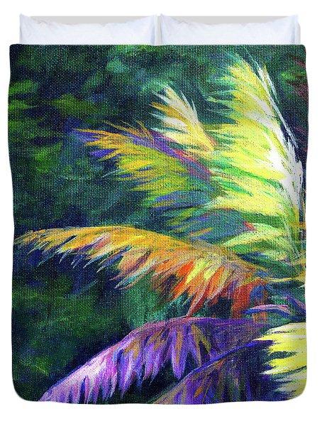 Soft Palm Duvet Cover