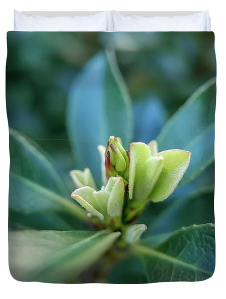 Softly Blooming Duvet Cover