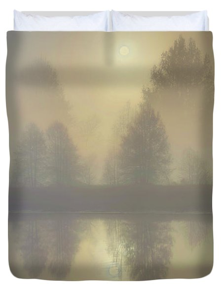 Softly Comes The Sun Duvet Cover