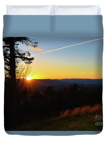 Solace And Pine Duvet Cover