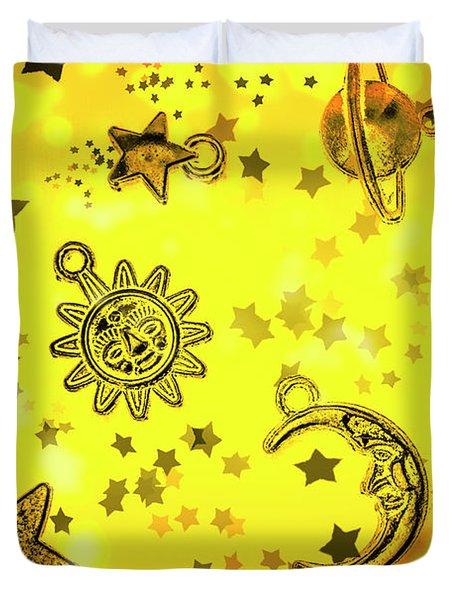 Solar Stars Duvet Cover
