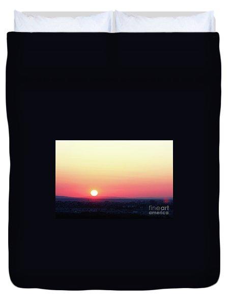 Solar Tangent Duvet Cover
