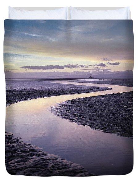 Solway Firth Dawn Duvet Cover