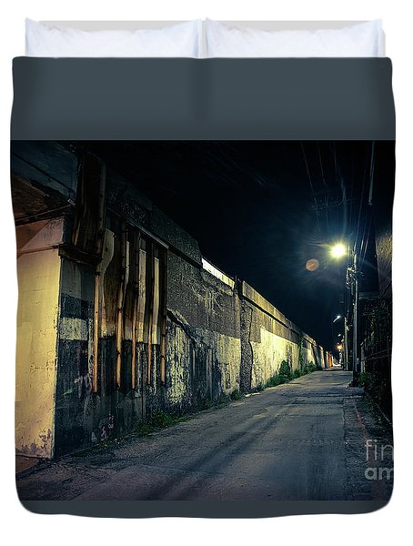 Somewhere In The Night Duvet Cover
