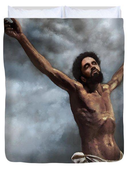 Son Of God Duvet Cover