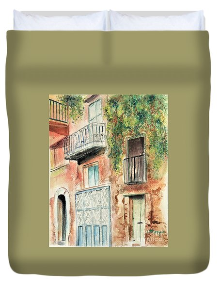Sorrento Charm Duvet Cover