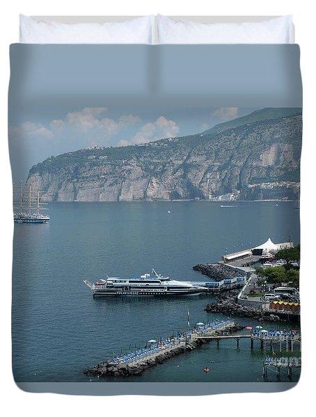 Sorrento Port Duvet Cover