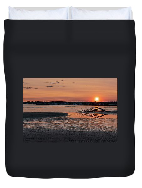 Soundview Sunset Duvet Cover