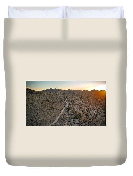 South Mountain Canyon Duvet Cover
