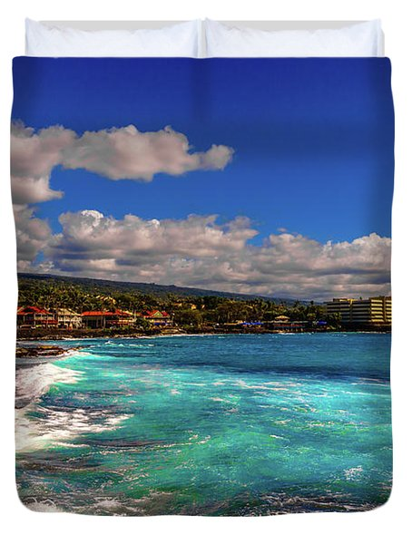 Southern View Of The Shore Duvet Cover