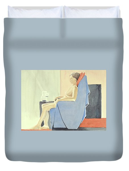 Sovande Sittande Sitting Asleep 2013 06 15-16_0091 4 Mb Up To 61x91 Cm  Duvet Cover