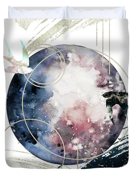 Space Operetta Duvet Cover