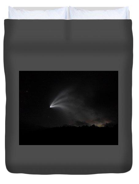 Space X Rocket Duvet Cover