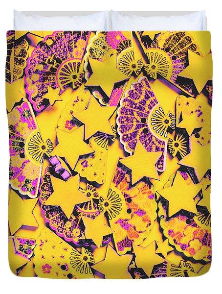 Spanish Flamenco Vision Duvet Cover