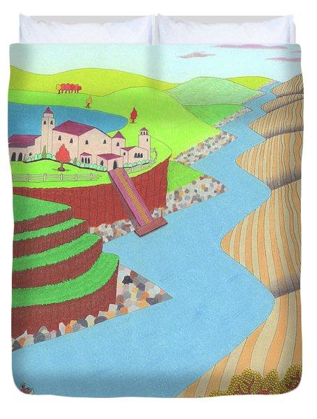Spanish Wells Duvet Cover